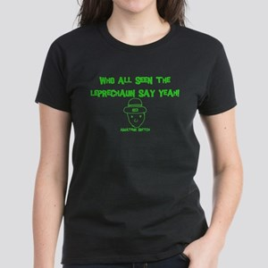 Who seen the leprechaun? Women's Dark T-Shirt